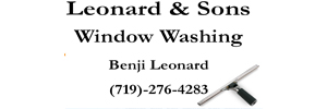 Leonard & Sons Window Washing